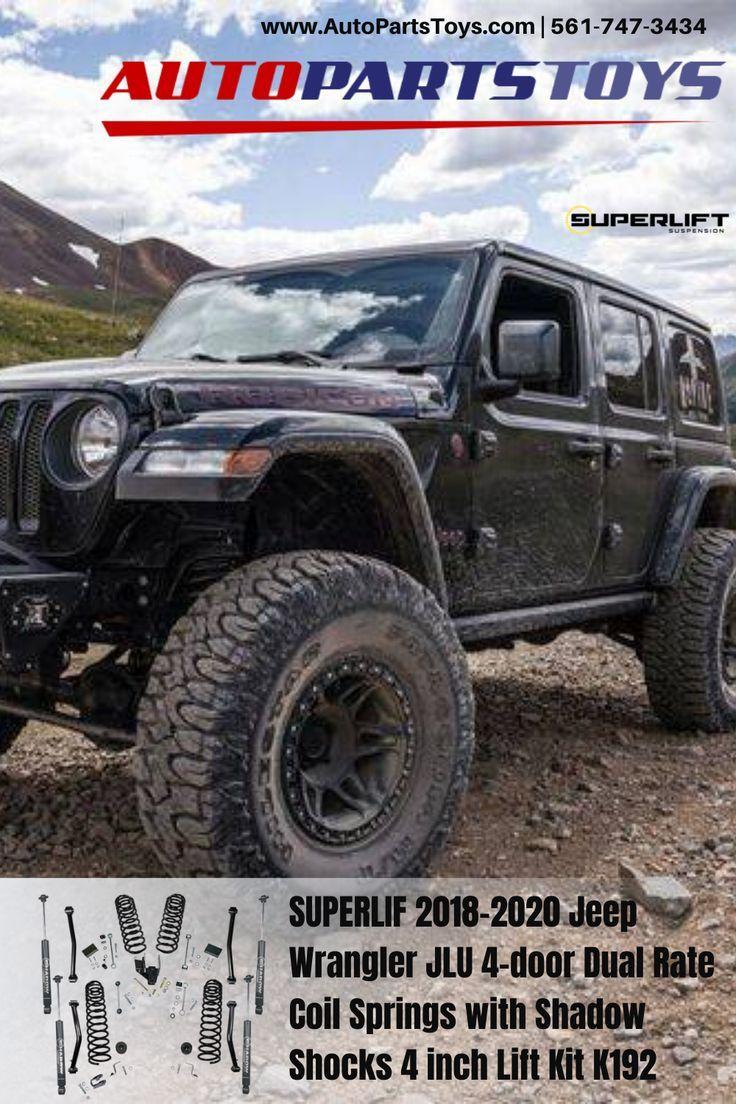 SUPERLIF 20182020 Jeep Wrangler JLU 4door Dual Rate Coil