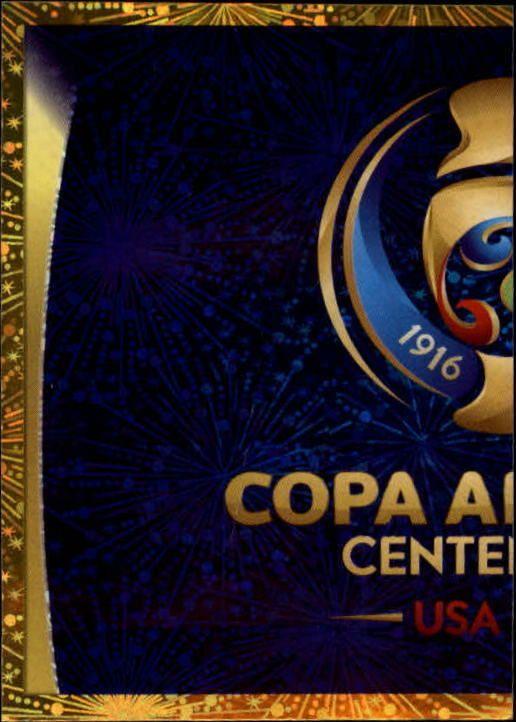 2016 Panini Copa America Centenario Stickers #1 Offical Logo Foil