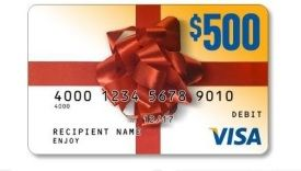 Enter for a chance to win 1 of 93 $500 Visa gift cards from O'Reilly Auto Parts.  http://www.ericsfreesite.com/2014/12/03/enter-for-a-chance-to-win-1-of-93-500-visa-gift-cards-from-oreilly-auto-parts.html