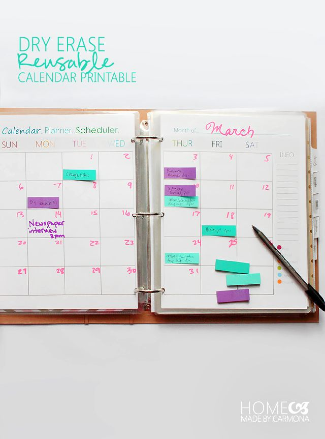 Calendar For Home Organization : Best images about organizing general on pinterest