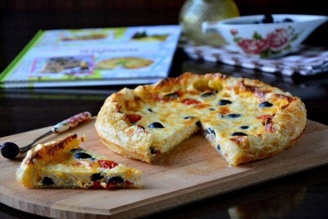 Греческий пирог Сиртаки с маслинами и сыром. Рецепт c фото от Tamara Shepeleva 2 октября 2015 на koolinar.ru