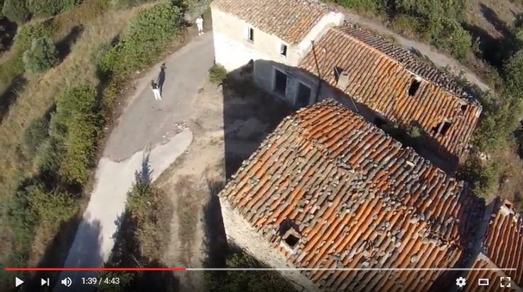 ** VIDEO ** L'antico borgo abbandonato di Badu Andria visto dal drone
