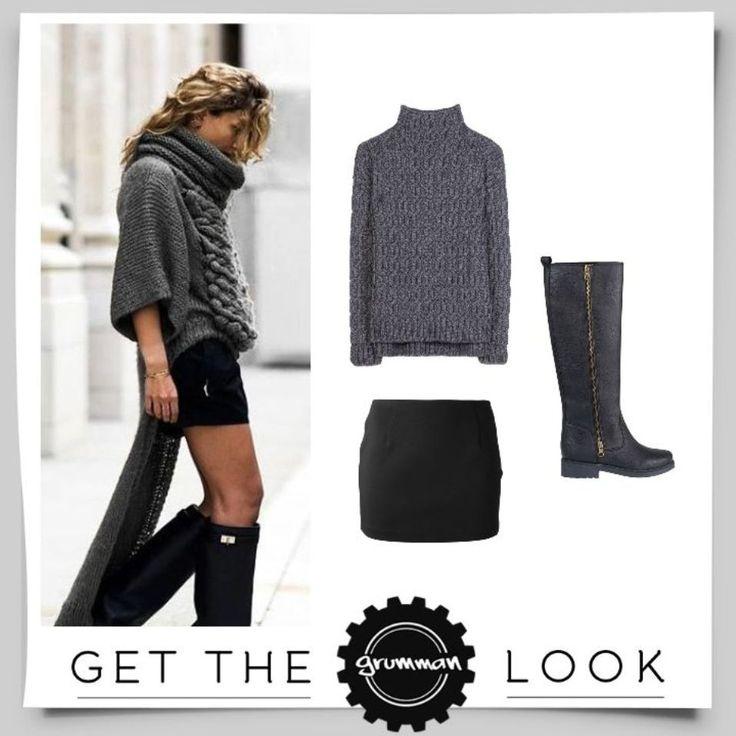 Get the Grumman Look: Με την mini skirt και της ψηλές μπότες αναδείξτε τα καλλίγραμμα πόδια σας όσο πρέπει!