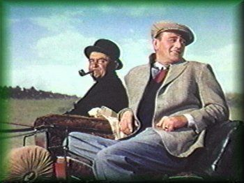 The Quiet Man with John Wayne. We watch this every year on St Paddy's.