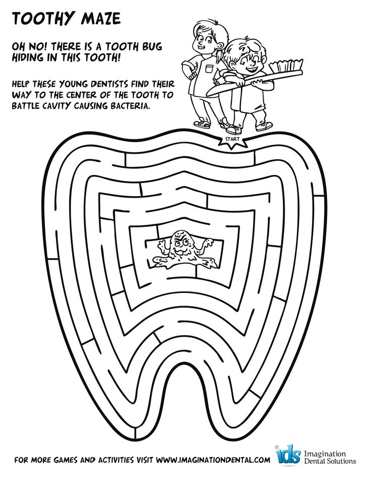 dental coloring page - Google Search