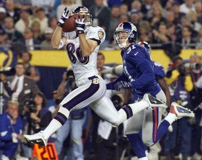 Super Bowl XXXV - Brandon Stokely 38 yard touchdown pass from Trent Dilfer