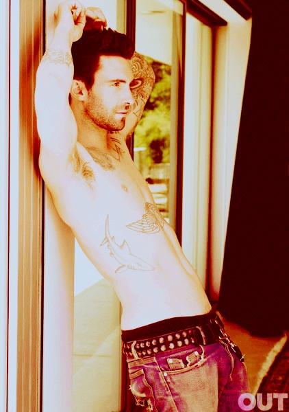 This has to be the sexiest picture of Adam Levine I've ever seen.: Eye Candy, But, Sexy, Shark Tattoo, Adam Levine, Hot, Adamlevine, People, Eyecandy