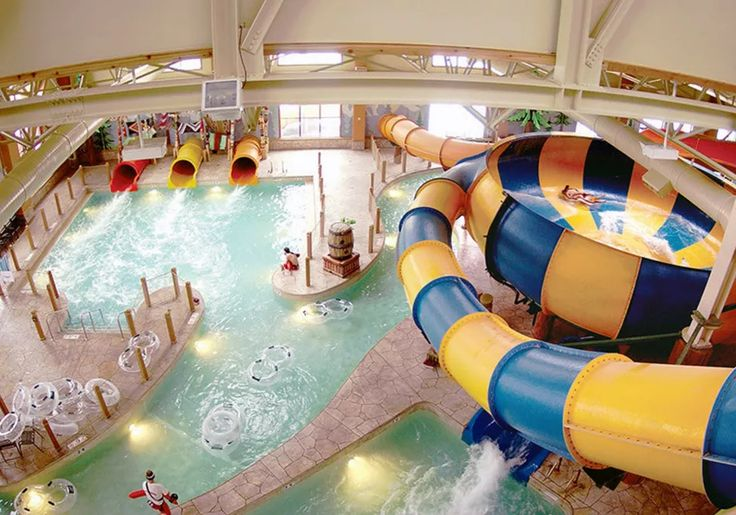 Visit the Great Wolf Lodge Poconos Indoor Water Park Resort