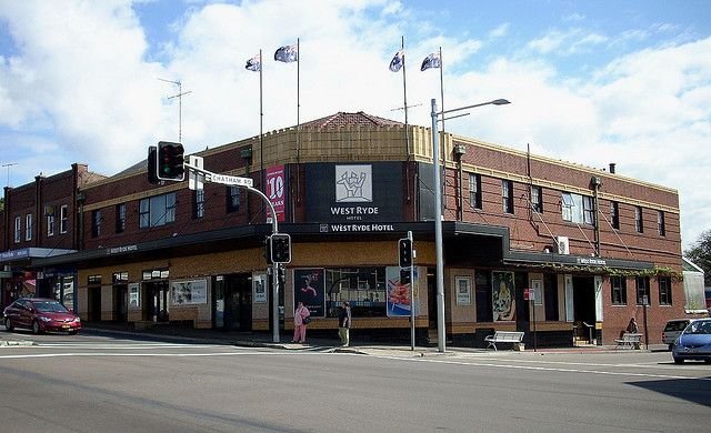 West Ryde Hotel, West Ryde, Sydney, NSW by dunedoo, via Flickr