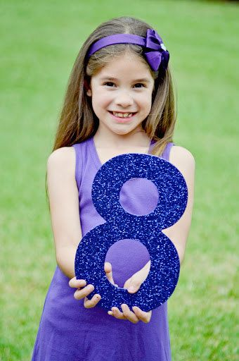 Number Age Birthday Kids Photo Prop Birthday Prop by TarasAlphabet, $19.99