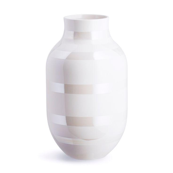 Omaggio+Vase+Large,+Perlemor,+Kähler