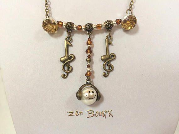 Collier #BijouMusique #ZenBoutik