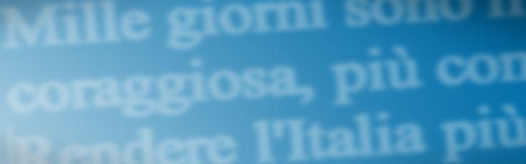 Passo dopo passo, cambiamo l'Italia realizzato in#wordpress