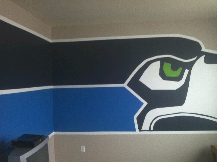 1000 Images About Seahawk Bedroom On Pinterest Football