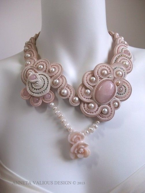 "Soutache embroidery by Anneta Valious: ""Valse II"""