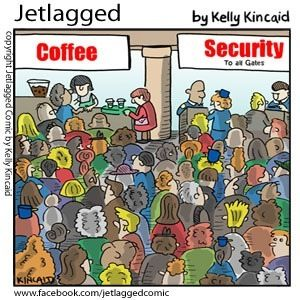 I'd love to own a coffee shop next to TSA bc I wouldn't tell them that they have to dump it b4 they pass security