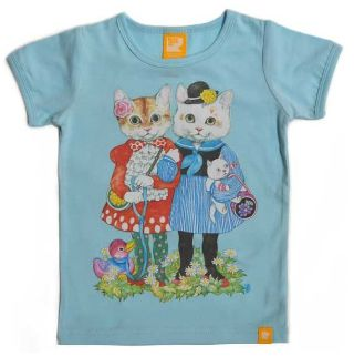 Rock Your Baby Sunday Best Tee - Blue