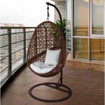 Sillón colgante Belones #Ambar #Muebles #Deco #Interiorismo #Jardin | http://www.ambar-muebles.com/sillon-colgante-belones.html
