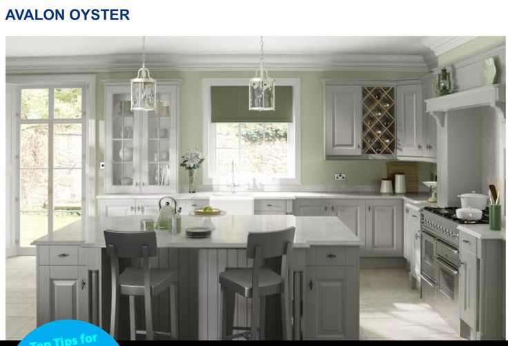 27 best grey painted kitchen images on Pinterest   Kitchens, Kitchen ...