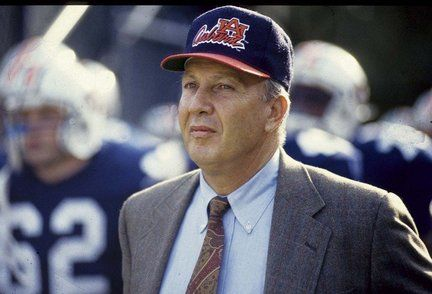 Coach Pat Dye.  The face of Auburn football during my childhood and one of the greatest coaches of the game.