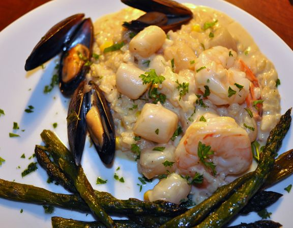 Seafood Risotto | recipes | Pinterest