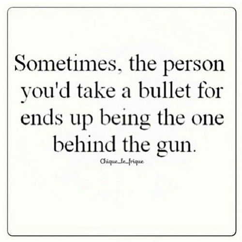 such truth.... this is how the betrayal of a 'friend' feels...