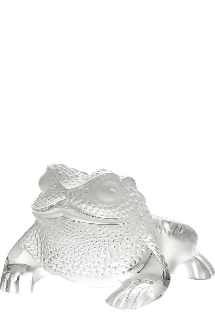 Lalique Скульптура Gregoire Toad Бесцветный 68 440 Р.