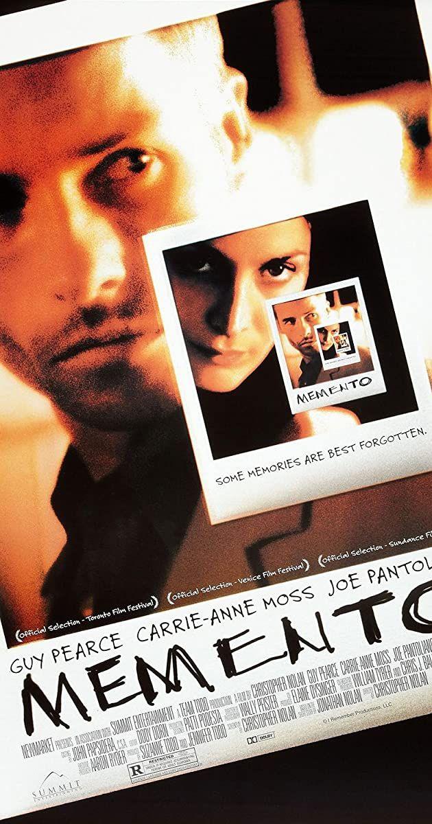 Memento 2000 Imdb In 2020 Best Indie Movies Guy Pearce Guy Pearce Movies