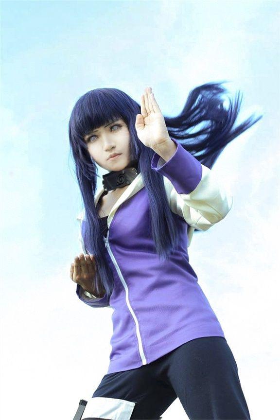 Naruto -  Hinata Hyuga Cosplay Photo