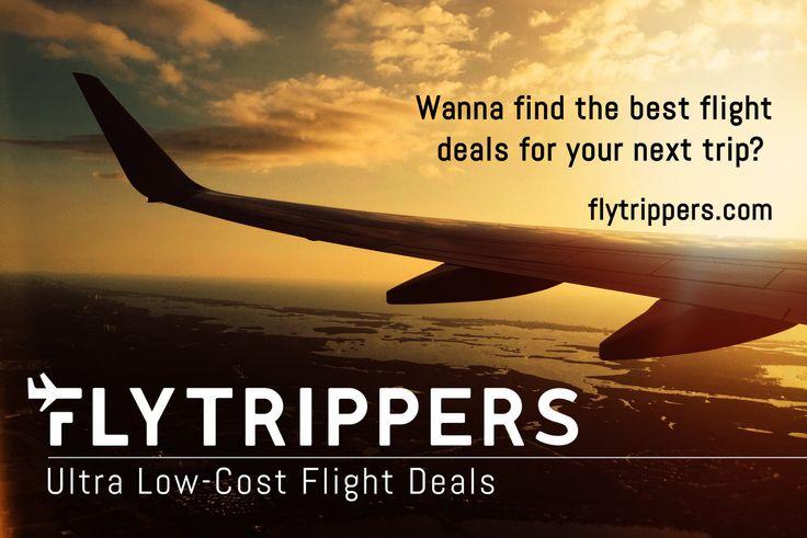 Flytrippers - Vols à très bas prix au départ de Montréal
