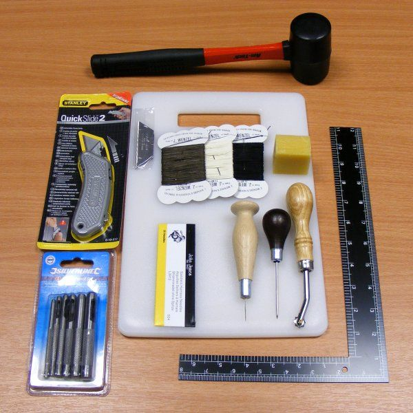UK leather craft supplies, leathercraft tools and hand made leatherwork.
