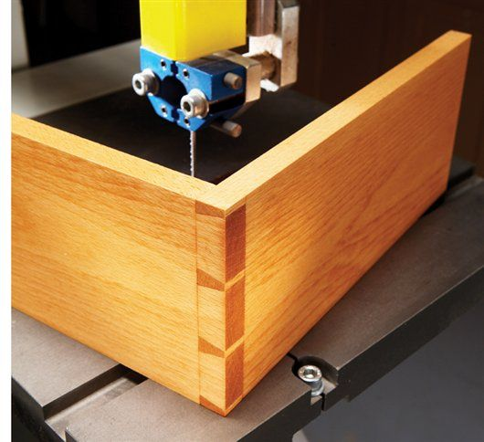 Wood Band Saw Box ~ Magazine bandsaw box woodworking projects plans