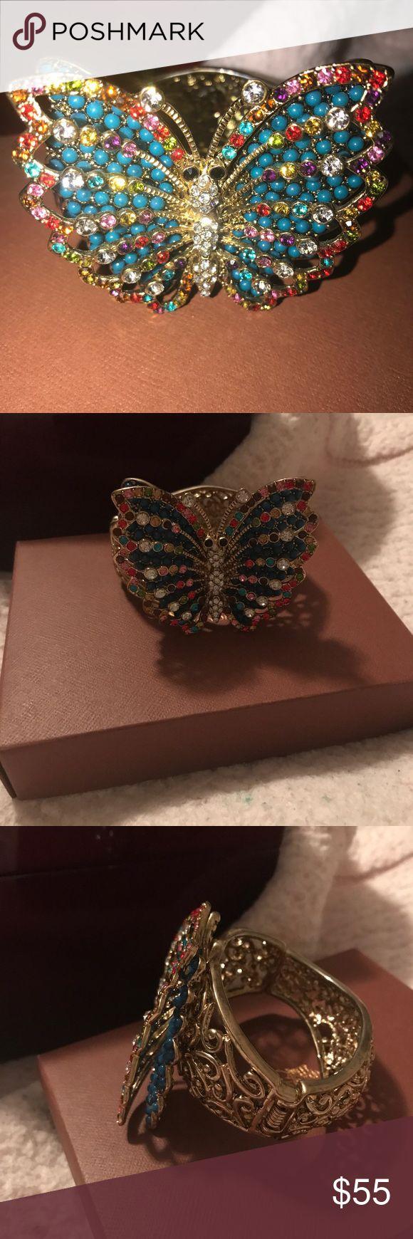 Butterfly bracelet Lots of gorgeous color hsn Jewelry Bracelets