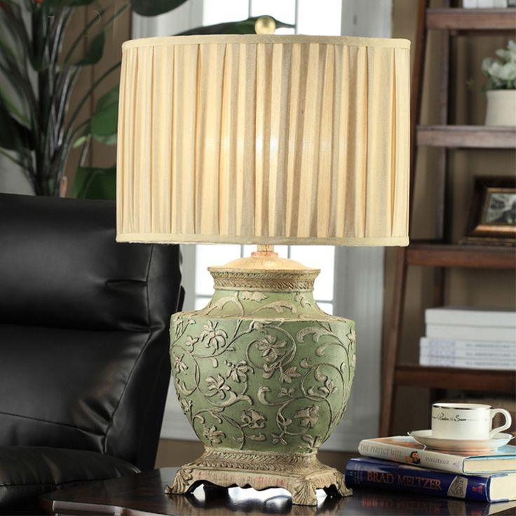 Chinese Classical Beside Table Lamp Desk Lighting Personality Lamp Living  Room Bedroom Luxury Vintage Decorative Lamp Part 62