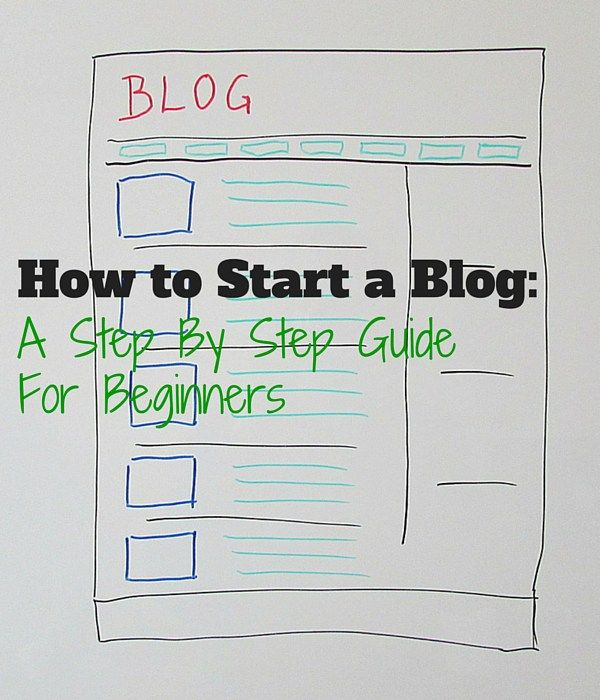 How to Start a Blog - A step by step guide for newbies who want to start a blog. #bloggingtips
