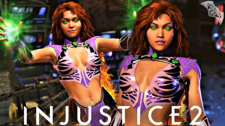Injustice 2 - STARFIRE GAMEPLAY TRAILER! - YouTube