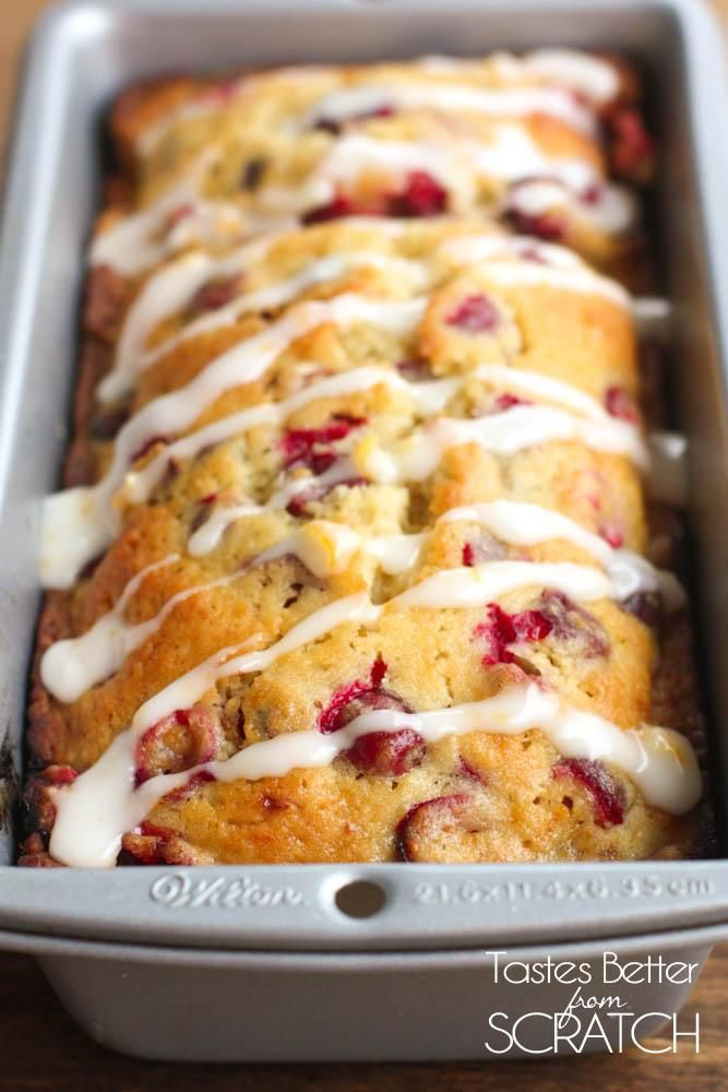 Cranberry Orange Bread | Tastes Better From Scratch