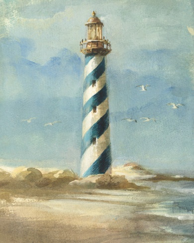 Lighthouse I Prints by Danhui Nai at AllPosters.com
