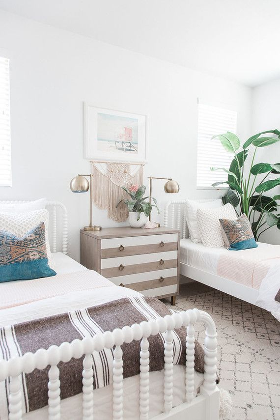Modern Coastal Girl S Room By Pure Salt Interiors With Images