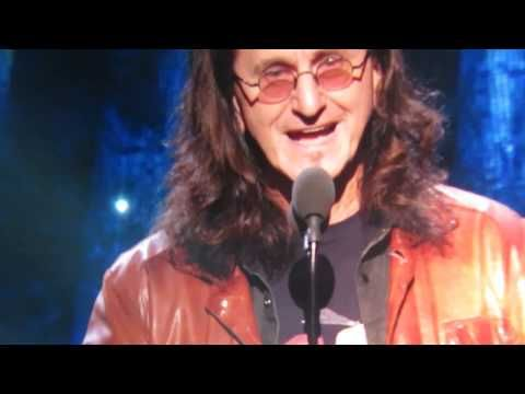 Geddy Lee and Alex Lifeson Introduce Yes at the R&R Hall of Fame Induction - April 7, 2017 - YouTube