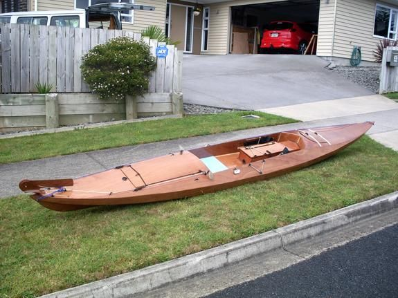 White boat: Looking for Plywood sea kayaks