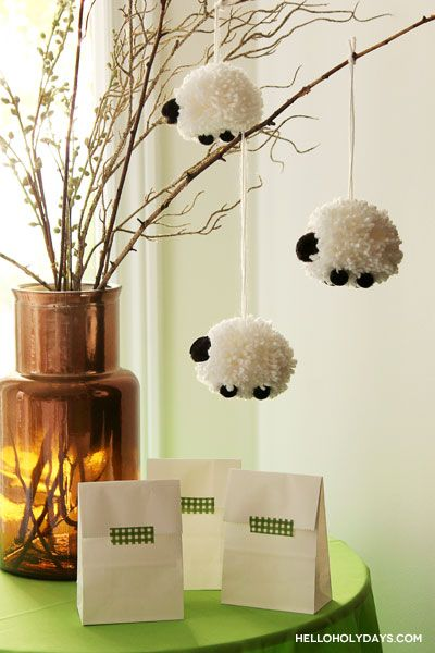 Eid al Adha Sheep Centerpiece - Hello Holy Days!