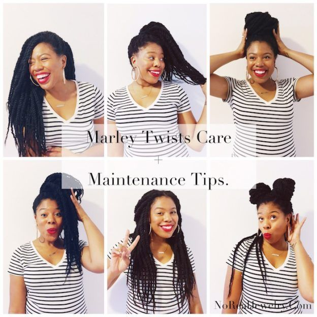 Natural Hair Care: Marley Twists Care + Maintenance Tips