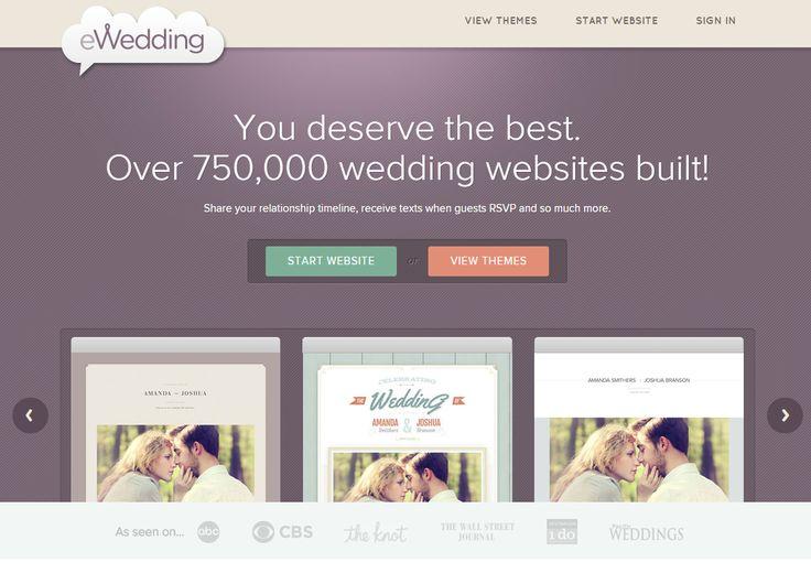 5 Stunning Wedding Website Builders