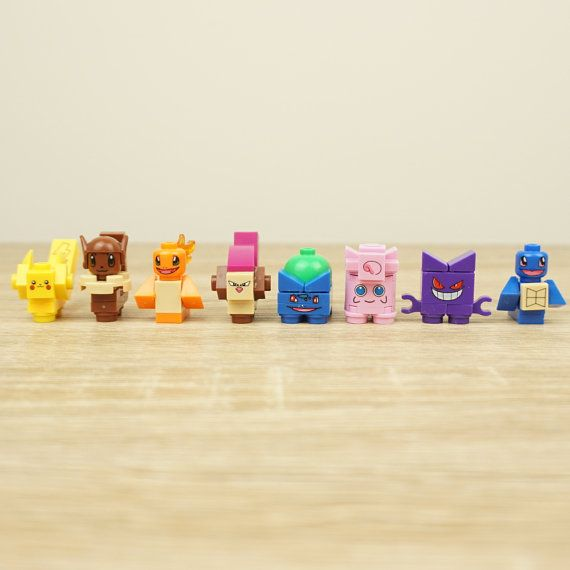 Pokemon Lego Mini Figures Pokemon Wedding Pokemon by Mylegoideas