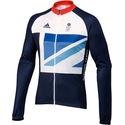 Adidas London Olympics 2012 Team GB LS Cycling Jersey
