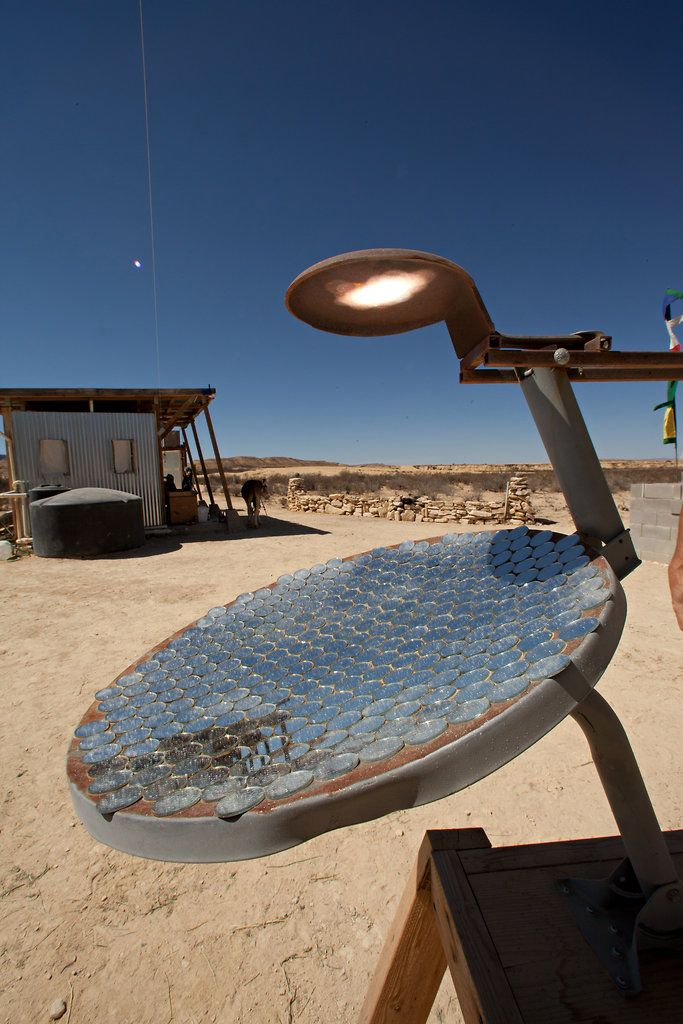 This great slide show of an off the grid project in West Texas, shows the many ways one can be more sustainable!