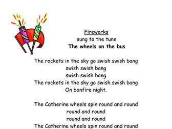 Firework / bonfire Night song