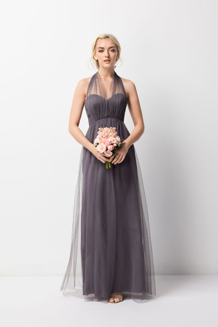 @watterswtoo Bridesmaids Dress Style 245 with infinity straps.