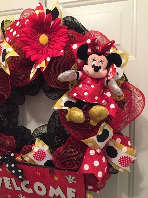 M s de 25 ideas nicas sobre navidad de mickey mouse en for Adornos navidenos mickey mouse
